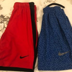 2 pairs of Nike shorts size small $10.00 for both